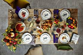 current obsessions color therapy thanksgiving table