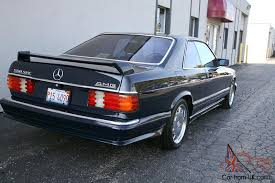 mercedes 560 sec coupe for sale mercedes 560 sec amg only 73k w126 coupe condition 560sec