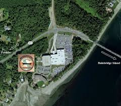 Seattle Casinos Map by Puget Sound