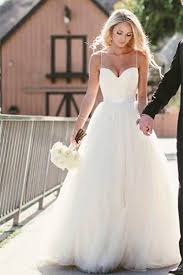wedding dress simple simple spaghetti straps layers tulle gown wedding dress