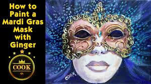 mardi gras masks for women how to paint a mardi gras mask with acrylic paints for beginners