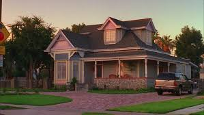 house wrap around porch sunset static quaint two story house house wrap