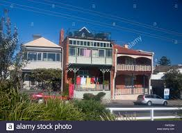 historic houses different architectural styles one with verandah