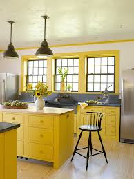 light yellow kitchen with white cabinets 11 trendy ideas that bring gray and yellow to the kitchen
