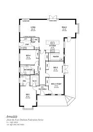federation homes floor plans