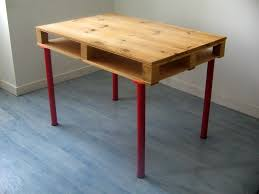 Diy Pallet Desk Diy Wood Pallet Desk Ellis Benus Web Design Columbia Mo Small Wood