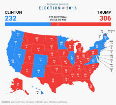 Us Election Map by U S History The Electoral College