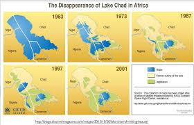 The Sahel Map Does The Boko Haram Insurgency Stem From Environmental Degradation