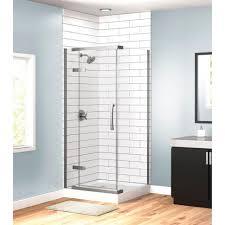 Uk Shower Doors Shower Delta In X Corner Frameless Shower Enclosures Uk
