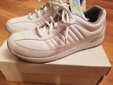 Easy Spirit Comfort Shoes Easy Spirit Leather Comfort Solid Athletic Shoes For Women Ebay