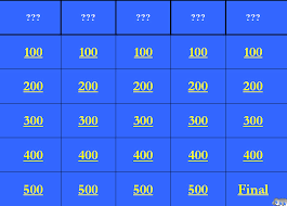 blank jeopardy powerpoint template with music jeopardy powerpoint