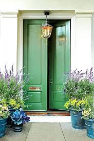 Metal Paint Exterior - green front doors colorful door tips painting exterior metal chalk