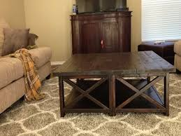 rustic square coffee table 20 best collection of extra large rustic coffee tables
