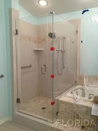 Glass Door For Bathroom Shower Frameless Enclosures Florida Shower Doors Manufacturer