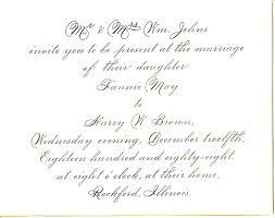 wedding invitation exles formal wedding invitation template wallpapers ideas