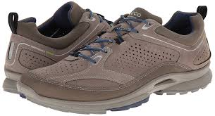 ecco biomultra mens running shoes brown warmgrey warm grey