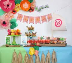 birthday party ideas 27 disney moana birthday party ideas pretty my party