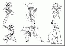 terrific anime naruto printable coloring pages with naruto