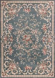 kas rugs avalon 5602 slate blue aubusson area rug kaoud rugs