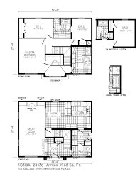 contemporary modern 2 story house floor plans ultra awesome modern 2 story house floor plans