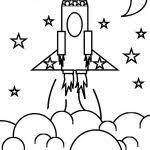 rocket ship coloring sportekevents