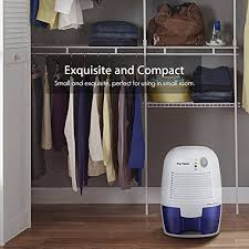 dehumidifiers for home fortech compact portable mini electric