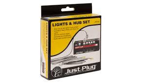 Stick On Led Lights Lights U0026 Hub Set Just Plug Lighting System Woodland Scenics