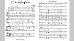 light a candle for peace lyrics a candle for peace musick8 com singles reproducible kit youtube