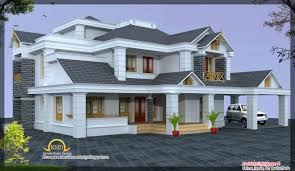 kerala home design blogspot com 2009 luxury home design elevation 4500 sq ft kerala home design and