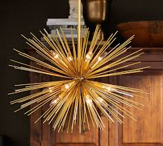 diy sputnik chandelier gorgeous gold sputnik explosion chandelier great price home