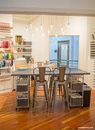 Craft Room Tables - studio tour our craft room lia griffith