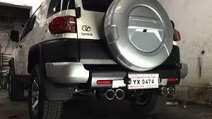 Toyota Fj Cruiser Exhaust Youtube