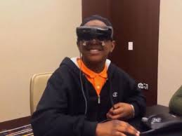 What Is Legally Blind Legally Blind 5th Grader Sees Mother For 1st Time Through