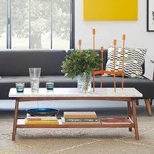 reeve mid century coffee table reeve mid century rectangular coffee table mid century coffee and