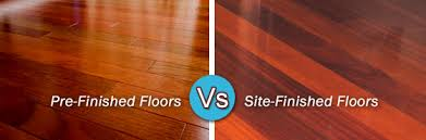 pre finished vs site finished hardwood floors