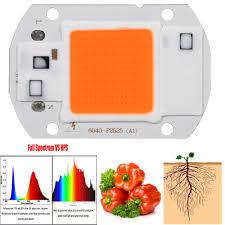 20 30 50w full spectrum led cob chip grow light plant growing lamp