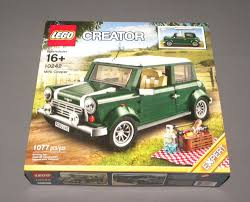 lego mini cooper interior lego mini cooper set 10242 creator expert green car vehicle
