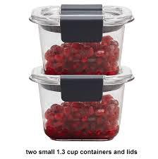 amazon com rubbermaid brilliance food storage container 8 piece