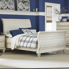 White Distressed Desk by Bedroom White Distressed Sleigh Bed Carpet Table Lamps Lamps