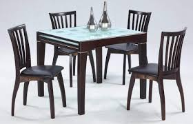 Modern Glass Square Dining Table Modern Extendable Dining Table Best Remodel Home Ideas Interior