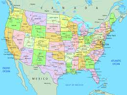 Map United States by Set Of Push Pins For Travel Map At Map Usa Pins Thefoodtourist