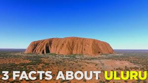 3 facts about uluru