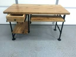 Reclaimed Wood Reception Desk Desk Solid Wood Reception For Sale With Regard To Popular Home