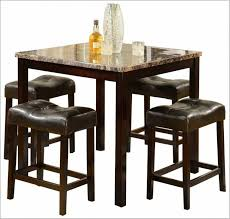 marble high top table high top kitchen tables casual bistro decor with counter height