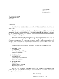 Application Letter For Job For Staff Nurse Application Letter
