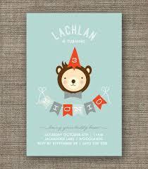 boys teddy bears picnic invitation 1st 2nd 3rd 4th 5th birthday