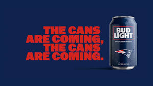 order nfl bud light cans bud light s popular nfl team cans are back with a new minimalist