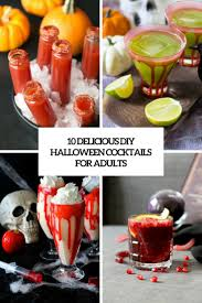 10 delicious diy halloween cocktails for adults shelterness