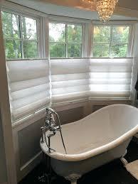 bathroom window treatments ideas bath window treatments shabby chic style bathroom by the window
