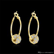 earrings styles 2018 earrings hoop styles fashion jewelry rhinestone hoops
